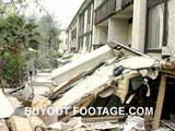 Collapsed Apartment Building Northridge Earthquake Tragedies And Natural Disasters Films Movies public domain films archive stock footage