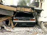 Crushed Car Northridge Earthquake Tragedies And Natural Disasters Films Movies public domain films archive stock footage