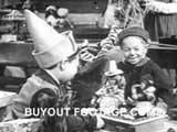 Elves Toy Factory Merry Christmas public domain films archive stock footage