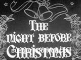 Title The Night Before Christmas public domain films archive stock footage