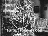 Christmas Tree The Night Before Christmas public domain films archive stock footage
